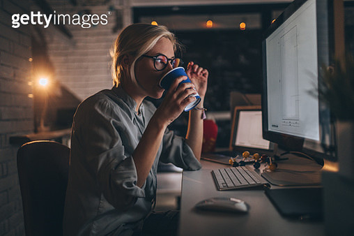 Some coffee for a late night shift - gettyimageskorea