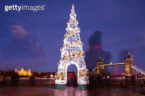 London city landmark at Christmas - gettyimageskorea