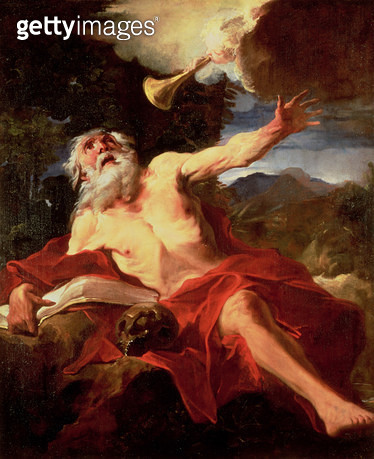 Vision of St. Jerome - gettyimageskorea
