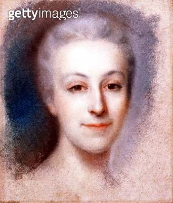 Portrait of a Lady (pastel) - gettyimageskorea