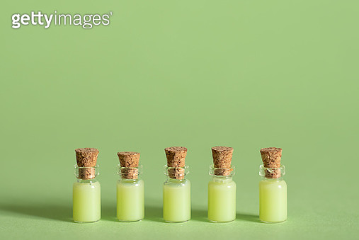 Spa treatment with lime and salts with towels and sponge - gettyimageskorea