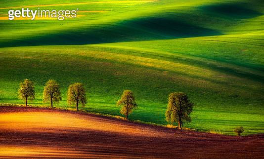 Moravian landscape, Czech Republic - gettyimageskorea