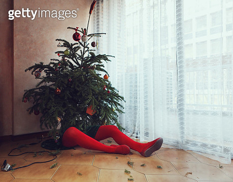 After party Christmas tree - gettyimageskorea