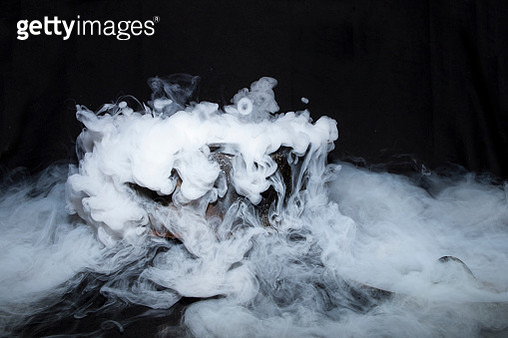 smoke and bubbles - gettyimageskorea