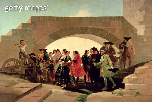 <b>Title</b> : The Wedding, 1791-92 (oil on canvas)<br><b>Medium</b> : oil on canvas<br><b>Location</b> : Prado, Madrid, Spain<br> - gettyimageskorea