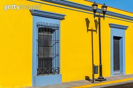 The Colorful Architecture of Oaxaca de Juarez City - gettyimageskorea