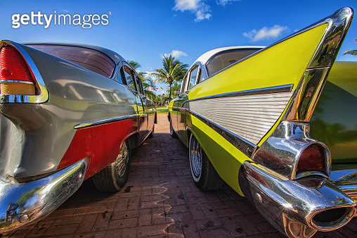 Old car in Cuba - gettyimageskorea