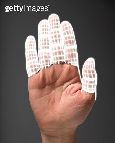 Bionic fingers - gettyimageskorea