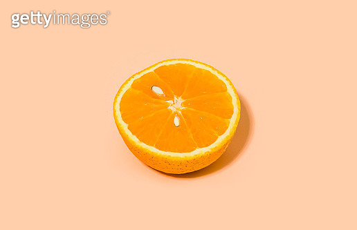 Half orange - gettyimageskorea
