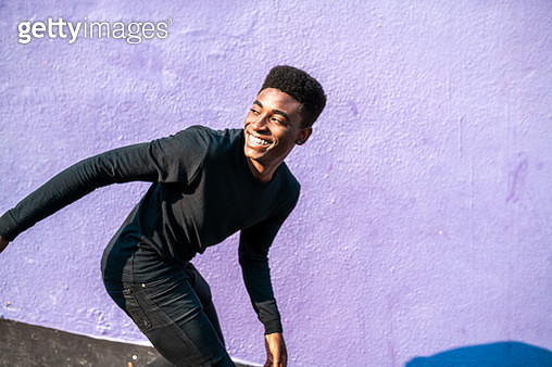 Happy Smiling African young man. - gettyimageskorea