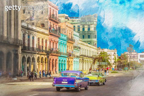 Havana is Cuba's capital city. Spanish colonial architecture in its 16th-century Old Havana core includes the Castillo de la Real Fuerza, a fort and maritime museum. - gettyimageskorea