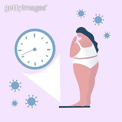 Concept For The Future After Coronavirus, Machine, Device, Weight, Women, Life. - gettyimageskorea