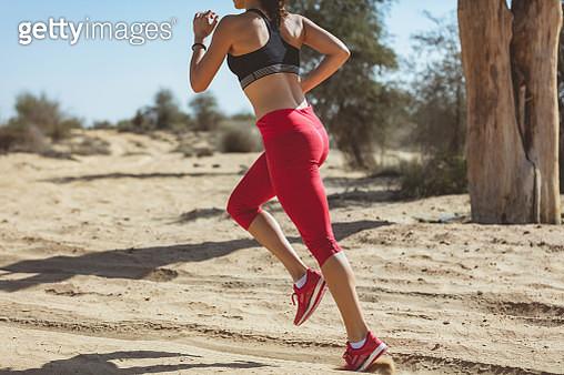 Jogger in motion - gettyimageskorea