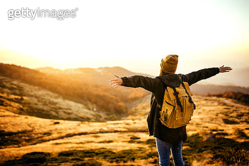 Smell of mountain air renews my soul - gettyimageskorea