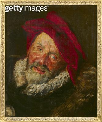 <b>Title</b> : Portrait of a Buffoon (oil on canvas)Additional Infobouffon; fou;<br><b>Medium</b> : <br><b>Location</b> : Musee Marmottan, Paris, France<br> - gettyimageskorea