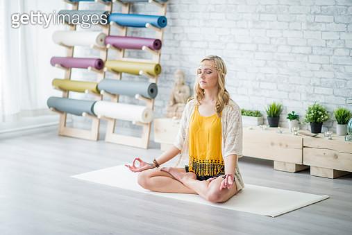 Yoga Studio - gettyimageskorea