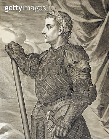 <b>Title</b> : D. Claudius Caesar Emperor of Rome from 41 - 54 AD engraved by Aegidius Sadeler (1570-1629) (engraving)Additional InfoClaude, ne<br><b>Medium</b> : <br><b>Location</b> : Private Collection<br> - gettyimageskorea