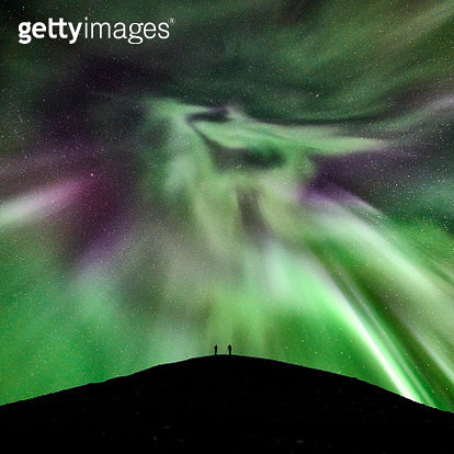 Auora Boreailis or Northern Lights, Iceland - gettyimageskorea
