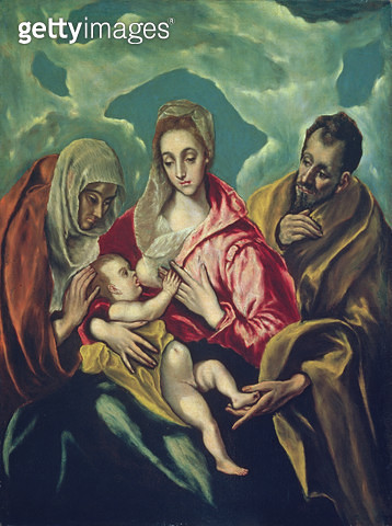 The Holy Family with St. Elizabeth - gettyimageskorea