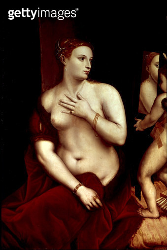 <b>Title</b> : Venus in Front of the Mirror<br><b>Medium</b> : <br><b>Location</b> : Private Collection<br> - gettyimageskorea