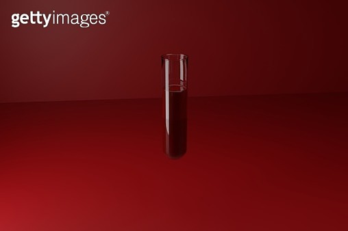 Test tube with blood - gettyimageskorea