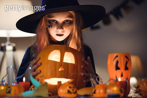 Little witch - gettyimageskorea