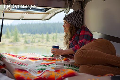 Road trip through Jasper National Park. - gettyimageskorea