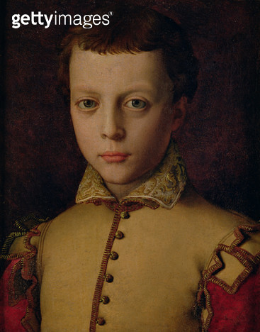 <b>Title</b> : Portrait of Ferdinando de' Medici (1549-1609) (Ferdinand I, Grand Duke of Tuscany) (oil on panel)<br><b>Medium</b> : oil on panel<br><b>Location</b> : Museo di Palazzo Mansi, Lucca, Italy<br> - gettyimageskorea