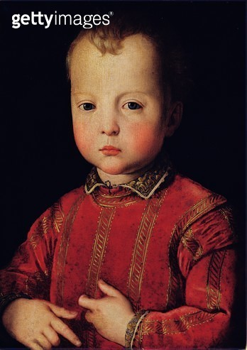 <b>Title</b> : Portrait of Don Garcia (oil on panel)<br><b>Medium</b> : oil on panel<br><b>Location</b> : Museo di Palazzo Mansi, Lucca, Italy<br> - gettyimageskorea