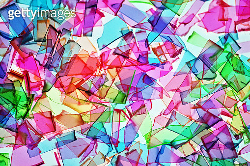 Rainbow Shatter - gettyimageskorea