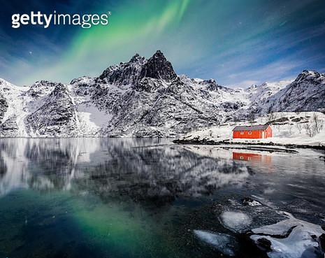 Aurora in Norway - gettyimageskorea