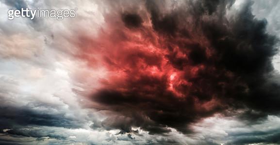 Stormy sky - gettyimageskorea