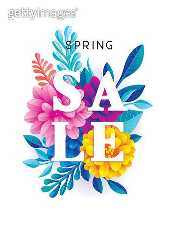 Spring sale flowers - gettyimageskorea