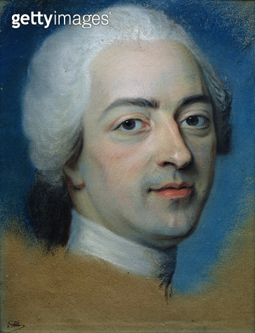 <b>Title</b> : Louis XV (1710-74) King of France and Navarre, after 1730 (pastel on paper)<br><b>Medium</b> : pastel on paper<br><b>Location</b> : Musee Antoine Lecuyer, Saint-Quentin, France<br> - gettyimageskorea