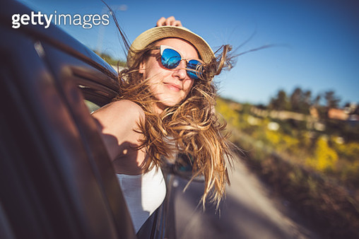 Enjoying roadtrip and having fun - gettyimageskorea