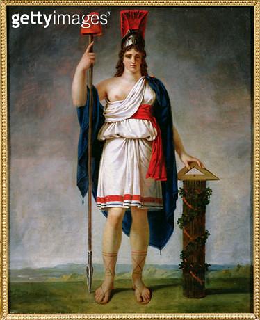 <b>Title</b> : Allegory of the Republic (oil on canvas)<br><b>Medium</b> : oil on canvas<br><b>Location</b> : Chateau de Versailles, France<br> - gettyimageskorea