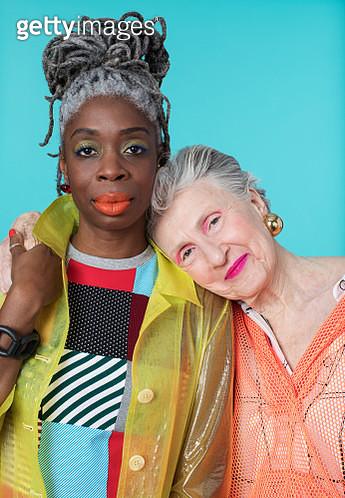 Portrait of Two Older Confident Women - gettyimageskorea