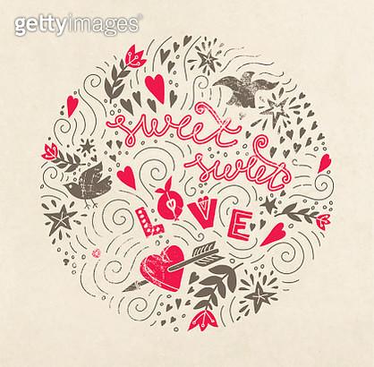 Valentines postcard - gettyimageskorea