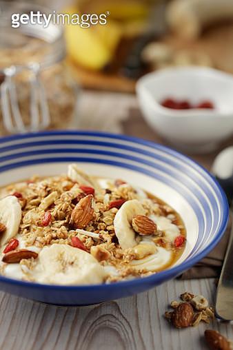 Healthy granola yogurt bowl - gettyimageskorea