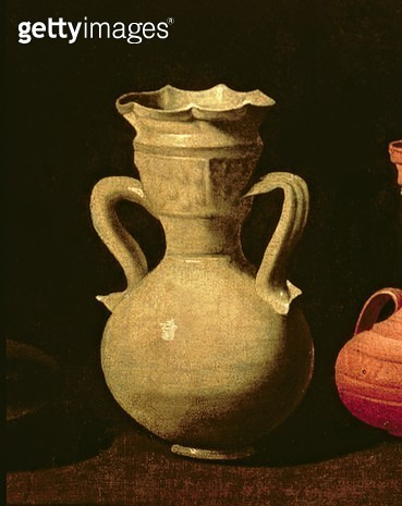 <b>Title</b> : Still Life (oil on canvas) (detail of 38737)<br><b>Medium</b> : oil on canvas<br><b>Location</b> : Prado, Madrid, Spain<br> - gettyimageskorea