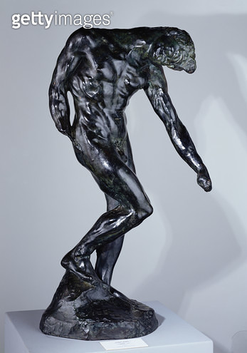 <b>Title</b> : Shade, 1881 (bronze)Additional Infothree shades designed for the top of the Gates of Hell;<br><b>Medium</b> : bronze<br><b>Location</b> : Musee des Beaux-Arts, Orleans, France<br> - gettyimageskorea