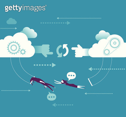 Network cooperation concept - gettyimageskorea