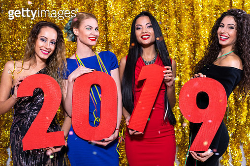 2019 New Year's Eve party - gettyimageskorea
