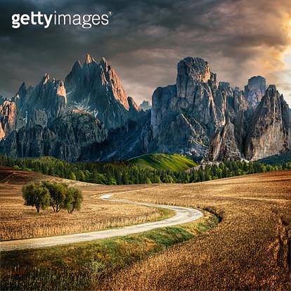 fairytale landscape - gettyimageskorea