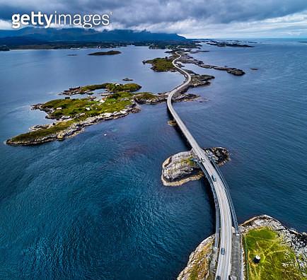 Atlantic Road in Norway - gettyimageskorea