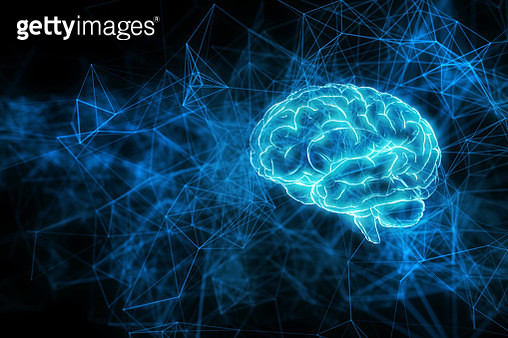 Artificial intelligence brain network - gettyimageskorea