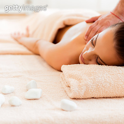 Hot stone relaxation - gettyimageskorea