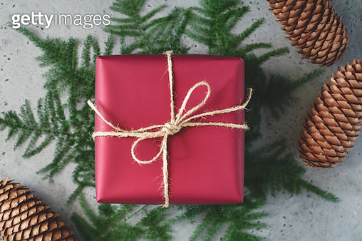 Close-Up Of Christmas Decoration On Table - gettyimageskorea