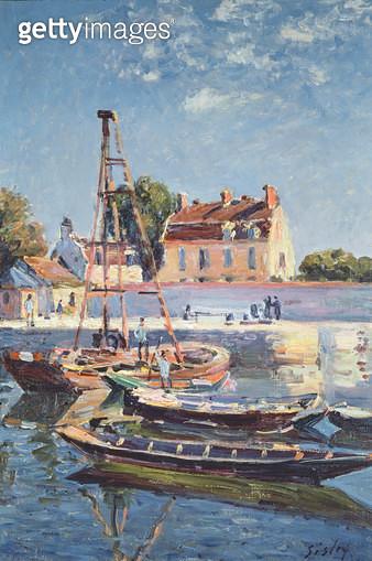 <b>Title</b> : Sailing Boats, c.1885<br><b>Medium</b> : <br><b>Location</b> : Private Collection<br> - gettyimageskorea