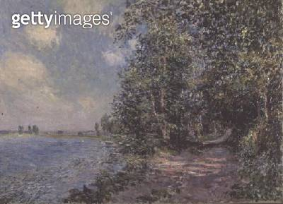<b>Title</b> : Veneux, August Afternoon, 1881<br><b>Medium</b> : oil on canvas<br><b>Location</b> : Private Collection<br> - gettyimageskorea